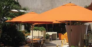 Wind Resistant Patio Umbrella Commercial Patio Umbrella Fabric Wind Resistant Bay Master