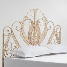 King Wicker Headboard Best 25 Wicker Headboard Ideas On Pinterest Princess Canopy