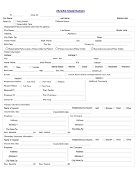 medical history forms employment medical history form free