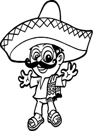mexico country symbol coloring pages womanmate com