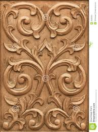 Wood Carving Free Download by Flower Carved On Wood Royalty Free Stock Photo Image 29582925