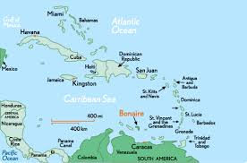 netherlands beaches map bonaire one of the other netherlands antilles