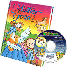 goose personalized children s book and nursery rhymes cd