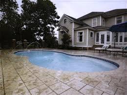 Deep Backyard Pool by Fiberglass Inground Pools Installed In Chicagoland Oswego