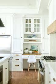 desk desk in kitchen cabinets built in desk kitchen cabinets