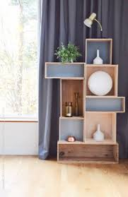 Making A Wooden Shelf Unit by Best 25 Box Shelves Ideas On Pinterest Shelf Ideas Diy