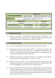 Rn Job Description Resume Registered Nurse Job Description Rn Duties A Superb Example Of