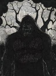 kentucky bigfoot sketches