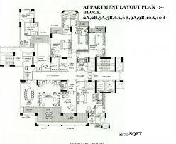 Dlf New Town Heights Floor Plan Dlf Aralias Sector 42