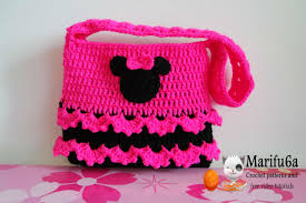 how to crochet minnie mouse bag soda tab purse full free pattern
