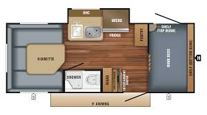Jayco Travel Trailers Floor Plans by 2018 Jayco Hummingbird 17bh Model