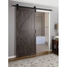 interior barn doors for homes continental mdf engineered wood 1 panel interior barn door jpg