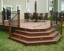 Deck Stairs Design Ideas Angled Deck Stairs Design Ideas Remodel Pictures Houzz Stairs For
