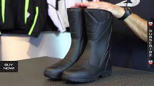 motorcycle touring boots sidi way mega rain boots from motorcycle superstore com youtube