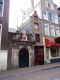 amsterdam the narrowest house in europe located at oude