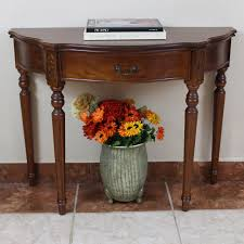 furniture mesmerizing half moon accent table with elegant looks