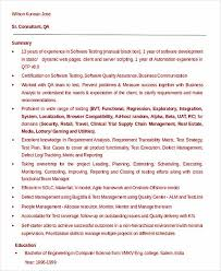 Qtp Resume Software Engineer Resume Sample And Tips