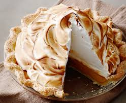 thanksgiving dinner pumpkin meringue pie the pioneer