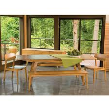 currant extendable dining table by greenington yliving