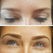 Eyebrow Tattoo Before And After The Lashe Inc Eyebrow Tattoo Before U0026 After Photos Chicago