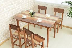 4 Seat Dining Table And Chairs Modern 4 Seater Dining Table Legs Solid Wood Furniture