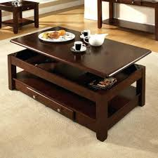Cherry Accent Table Coffee Tables Mesmerizing Coffee Table Chic Dark Brown Rectangle
