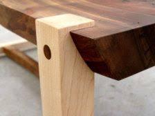Walnut Slab Table by All Wood Walnut Slab Table With Hard Maple Legs Walnut Slab