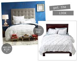 boxwood clippings blog archive get the look pintuck duvet cover