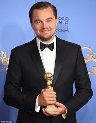 leonardo dicaprio to present golden globe awards honor daily