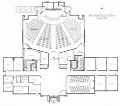 Church Floor Plan by Brownfield Church Of