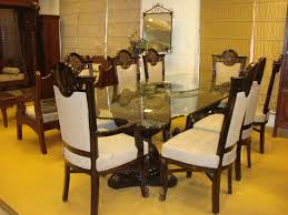 Glass Dining Room by Decorating Traditional Dining Room Design With Glass Dining Table