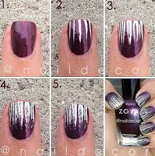 10 easy u0026 simple winter nails art tutorials for beginners 2017