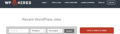 Best Places To Post Your Resume by The Best Places To Find Wordpress Jobs And Build Your Career
