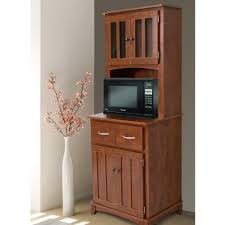 Kitchen Hutch Cabinet Kitchen Hutch Microwave Stand Island Buffet Cabinet Cart Storage