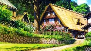 country cottage wallpaper awesome country cottage hd wallpaper for desktop image