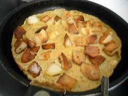 cuisiner le c eri recette d omelette de mon cheri au pomme de terre et épices