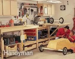 Diy Garage Workbench Plans Pratt Family by 147 Best Basement Workshop Images On Pinterest Woodwork