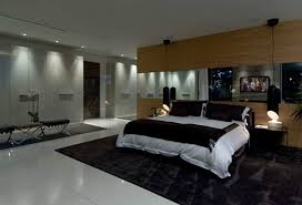 Exellent Luxury Modern Bedroom White Bed Curtains And Design - Modern house bedroom designs