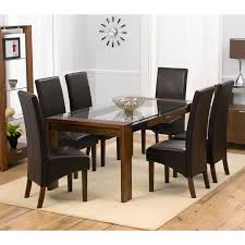 Solid Walnut Dining Table And Chairs Glass Dining Tables U2013 Next Day Delivery Glass Dining Tables From