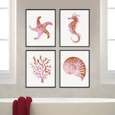Bathroom Wall Accessories by Shop Sea Life Wall Decor On Wanelo