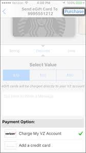 send an egift card send re send an egift verizon messages apple iphone verizon