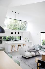 modern interior design kitchen beautiful modern white kitchen with scandinavian simplicity