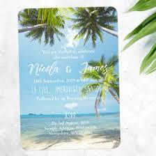 Beach Theme Wedding Invitations Beach Themed Wedding Invitations U0026 Invites
