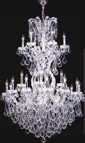 Moder Chandelier James R Moder 91795s22 Crystal Maria Theresa Grand Twenty Five