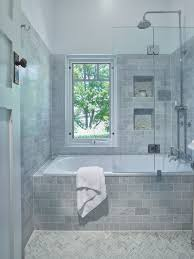 traditional bathroom lovely inset bath with a shower combo
