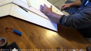 rc zephyr foamboard wing build youtube