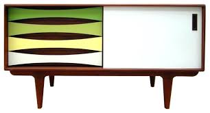 mid century console cabinet bowery grand durand media console midcentury media cabinets mid