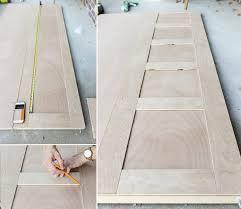 Closet Doors Diy Make Closet Doors Plywood Closet Doors