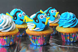 finding dory cupcakes recipe findingdory haveyouseenher