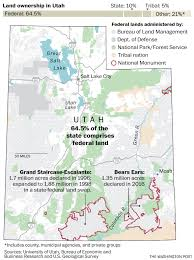Utah National Park Map by Trump Orders Review Of National Monuments Vows To U0027end These